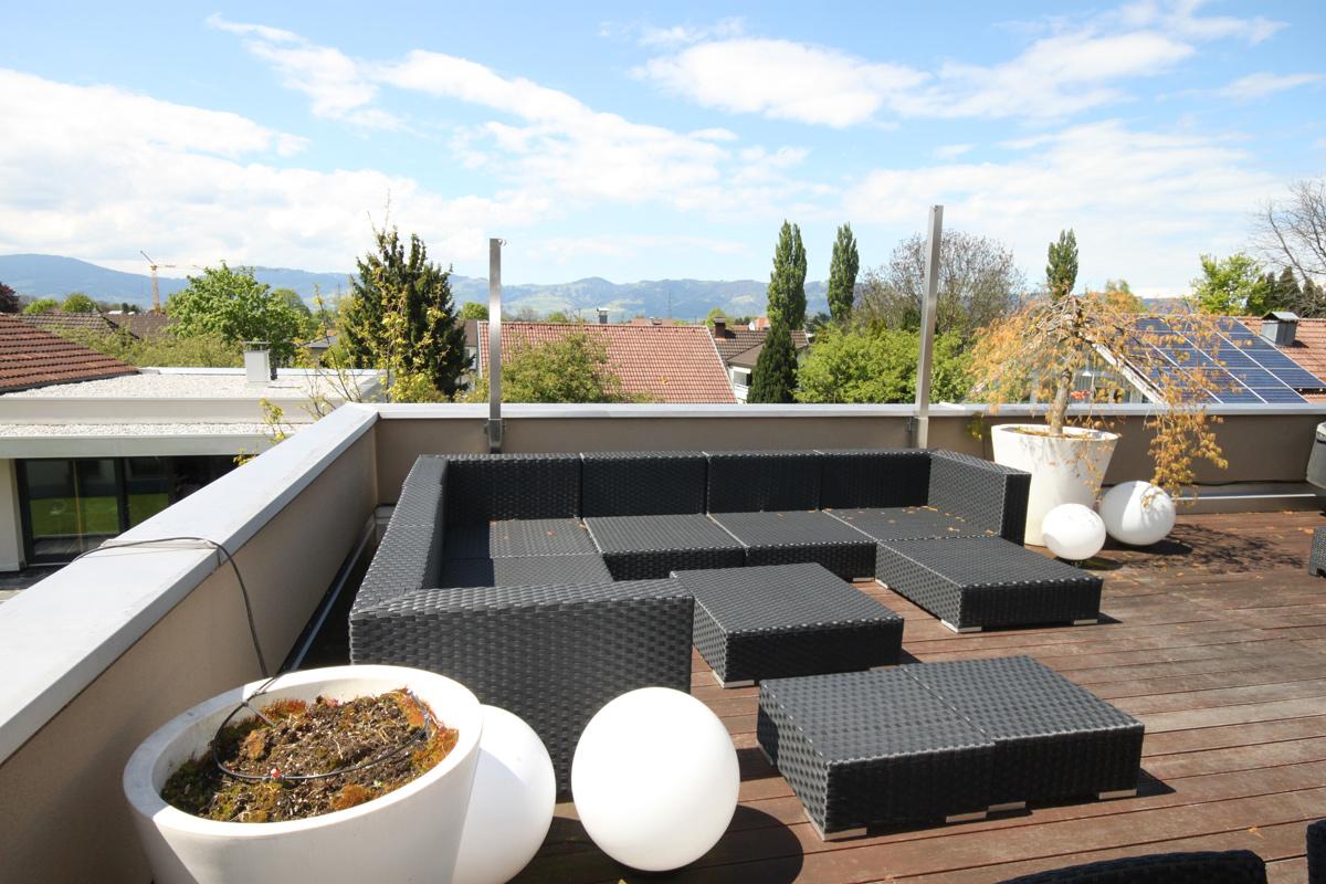 4-zimmer penthousewohnung altach - kolumbanstrasse - bösch bauen, Wohnzimmer dekoo